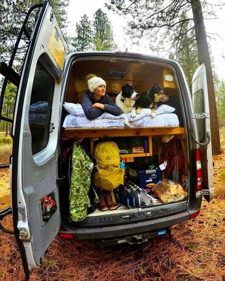 22 tips packing car for camping van life campervan
