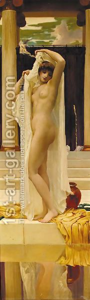 The Bath of Psyche after Lord Frederick Leighton