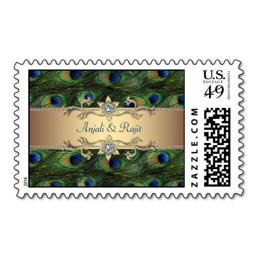 ==>Discount          Emerald Green Gold Royal Indian Peacock Wedding Stamp           Emerald Green Gold Royal Indian Peacock Wedding Stamp in each seller & make purchase online for cheap. Choose the best price and best promotion as you thing Secure Checkout you can trust Buy bestReview       ...Cleck Hot Deals >>> http://www.zazzle.com/emerald_green_gold_royal_indian_peacock_wedding_postage-172954001631703765?rf=238627982471231924&zbar=1&tc=terrest