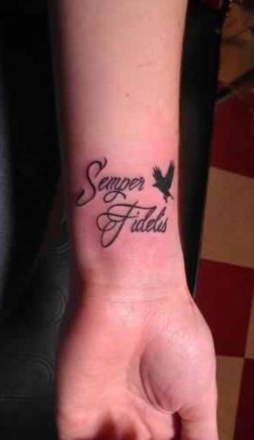 In memory of Grandpa? Semper Fidelis! USMC!