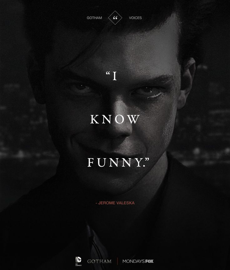 "Jerome Valeska aka The Joker from ""Gotham"". Season 2 premier tomorrow woot! :D"