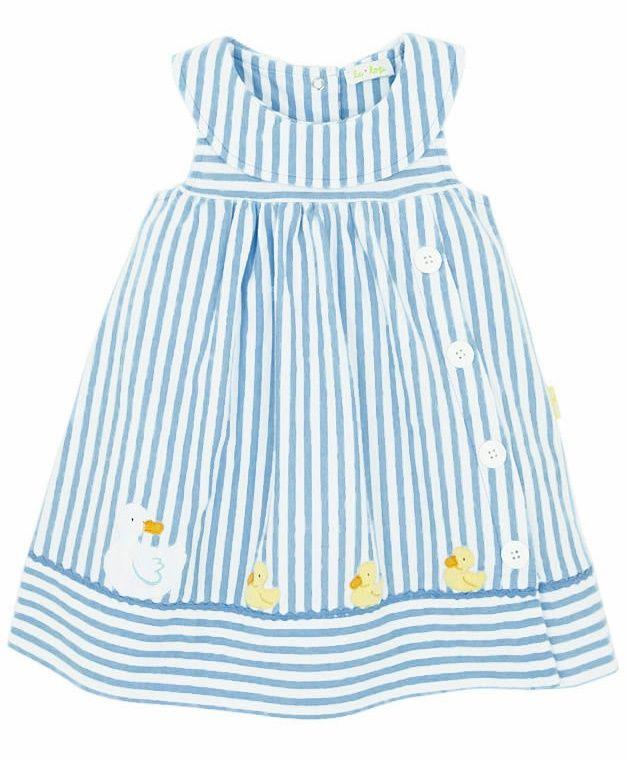 Un alegre vestido de verano para niñas