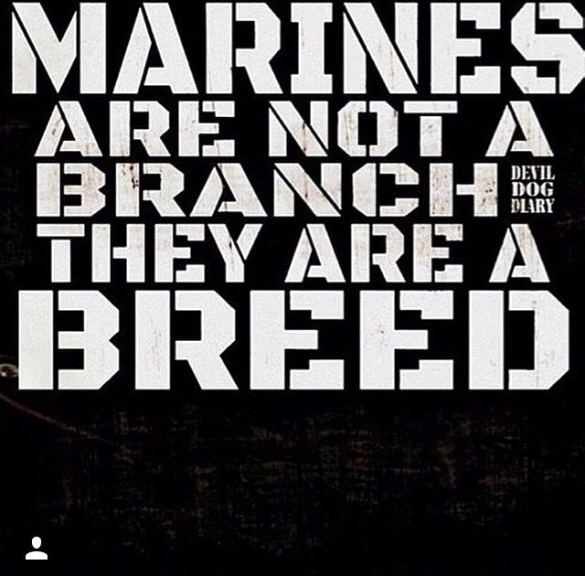 Marines are a BREED! Oorah ~ RADICAL Rational American's Defending Individual Choice And Liberty