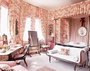 Toile de Jouy Bedroom