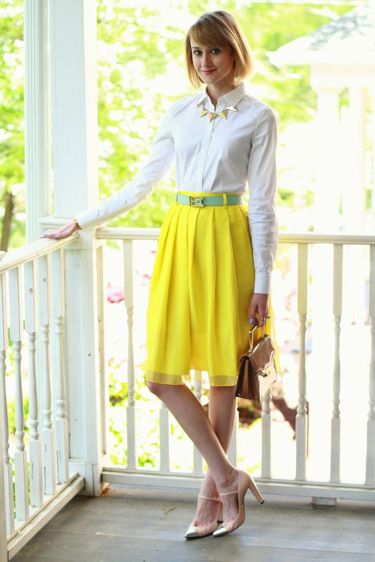 White, yellow, and mint