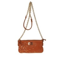 A soft textured leather messenger bags, mini,  leather, logo detail, metal applications, http://www.handbag-boutique.co.uk/buy_fendi-bags-medium-leather-bags-women-on-yoox-com_814245_45178582/go/ Now £392 (origninal price 560)