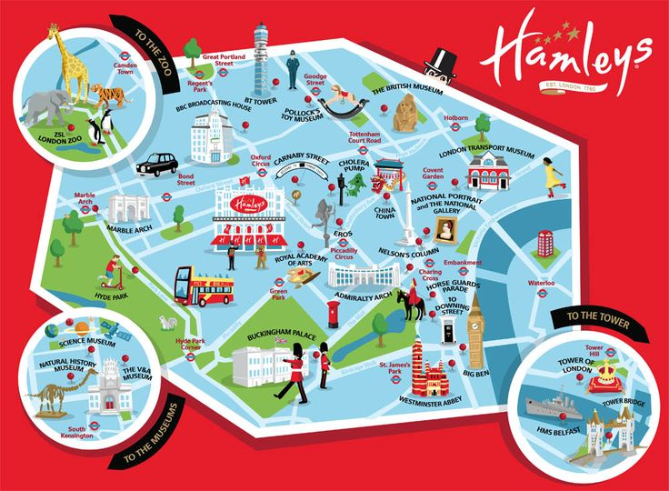 I recently worked with Hamleys toyshop in London to create a – Tourist Map Of Colorado