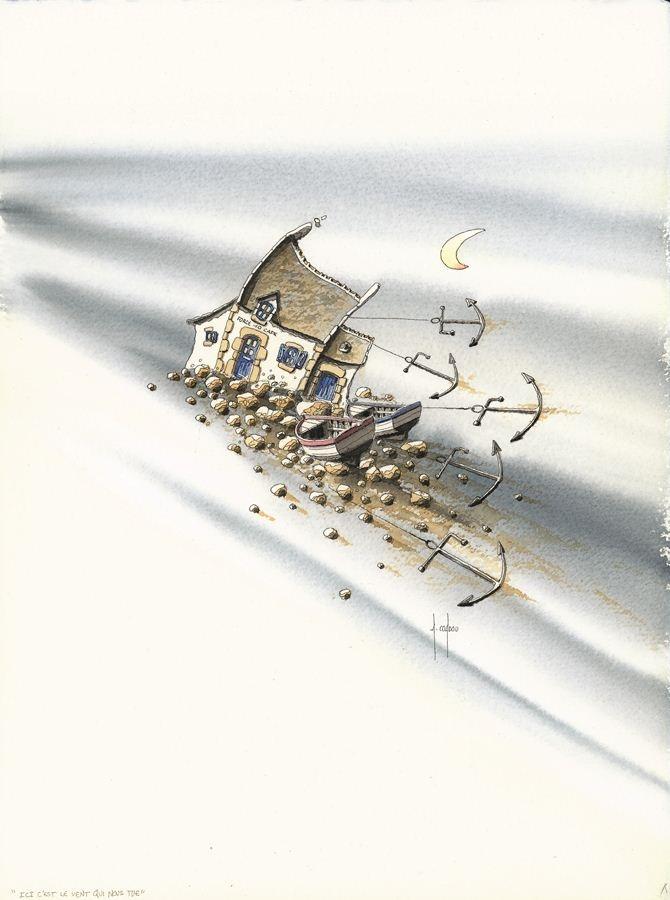 Alain Coadou (Locronan) - Ici C'est Le Vent Qui Nous Tue