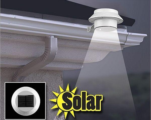 Производитель Shenzhen Открытый Солнечной энергии 3 LED Холодный Белый/Теплый Белый Свет Забор Водостоков Сад Двор Крыша Настенный Светильник