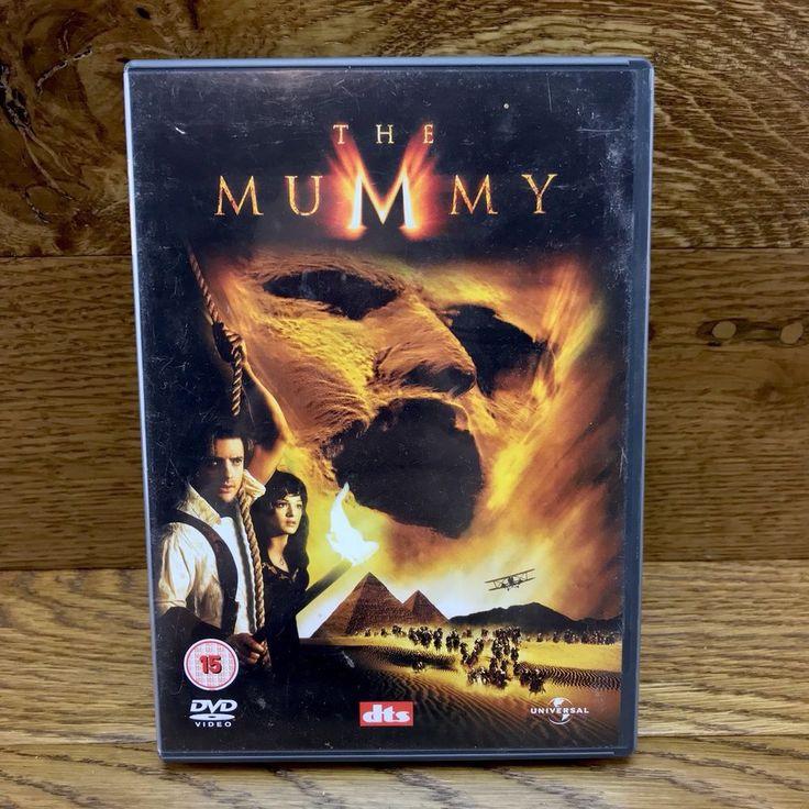 The Mummy DVD Movie bonus material Brendan Fraser region 2 & 4 avtion adventure