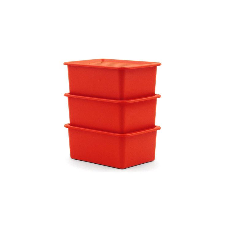 Model: Multipurpose Stacking Box Year: 1997 Type: Stacking Box Manufacturer: Magis Origin: Italy Designer: Jasper Morrison Material: Polypropylene Dimensions:W 360 x L 500 x H 200 mm  Estimated Delivery: 10–15 working days