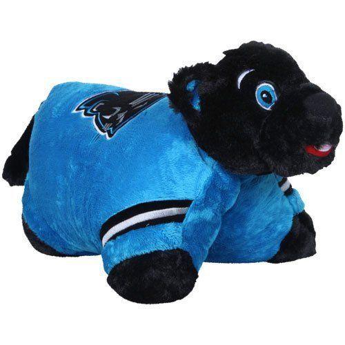 #NFL Pillow Pet Carolina Panthers Mascot Sir Purr Cam Newton 1 88 Super Bowl 50 from $32.39