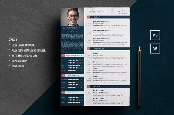 Elegant Word Resume Elegant Words Resume Template Best Resume Template
