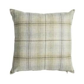 Devon Green Check Cushion