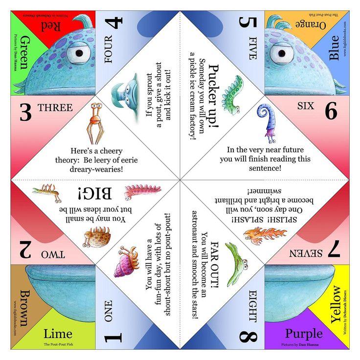 fortune teller instructions paper folding
