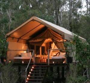 Eco lodge in Australia.