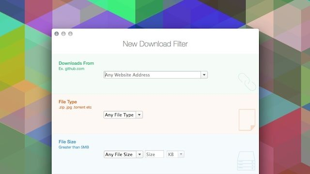 Download Organizer Sorts and Filters Your Downloads Folder - #App #Mac