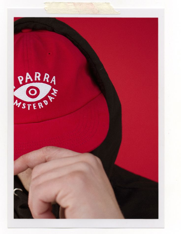 Parra 6 Panel hat eye in STORM SHOP® Madrid. All eyes on you! #clothing #label #6panel #cap