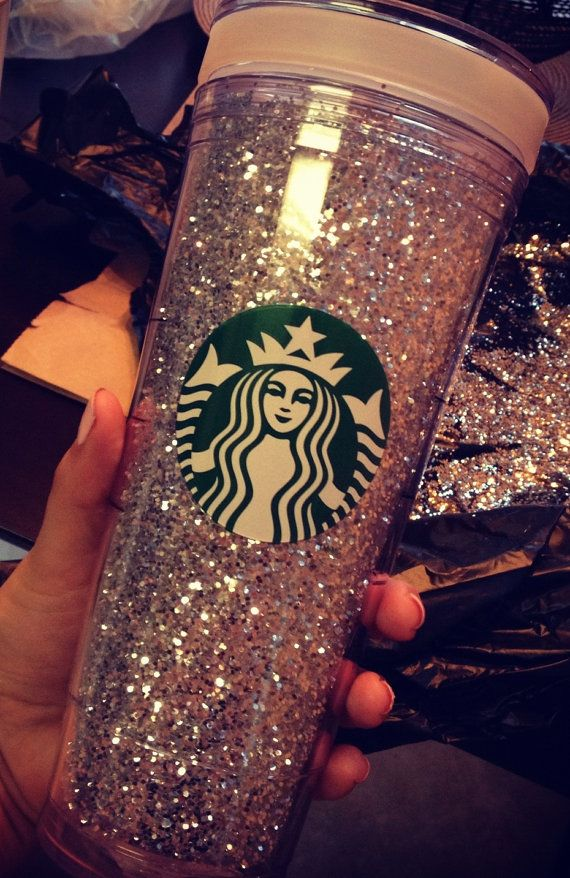 Venti Glittered Starbucks Cup made to order!