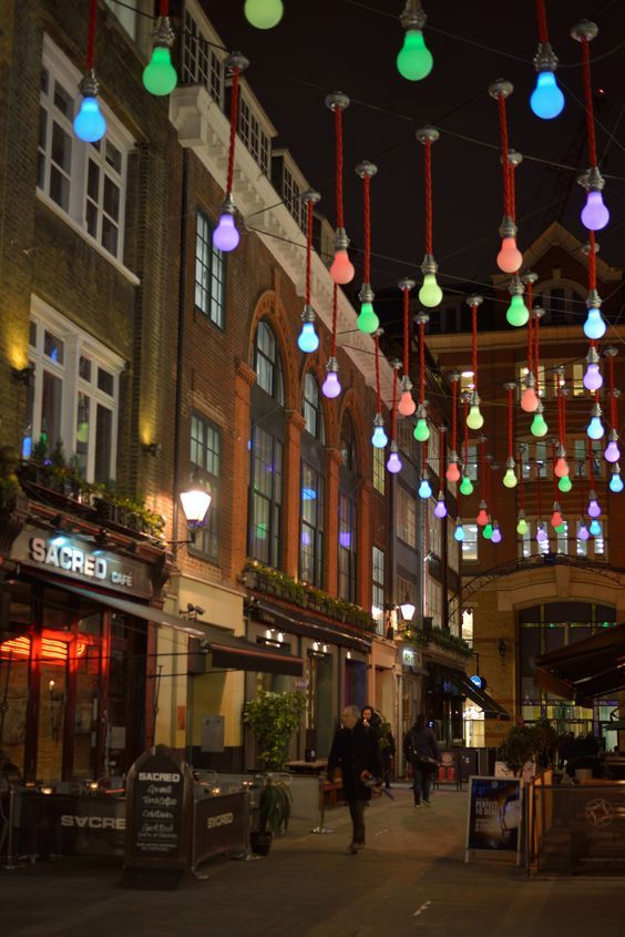 Carnaby Street, London.