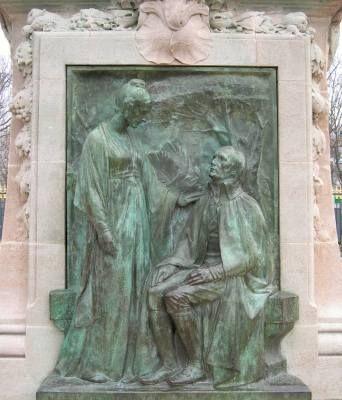 Léon Fagel : Monument à Jean-Baptiste Lamarck, Jardin des plantes