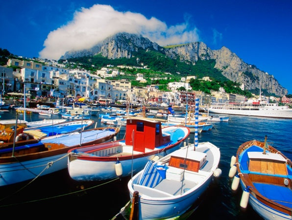 The island of Capri... i have to go back!