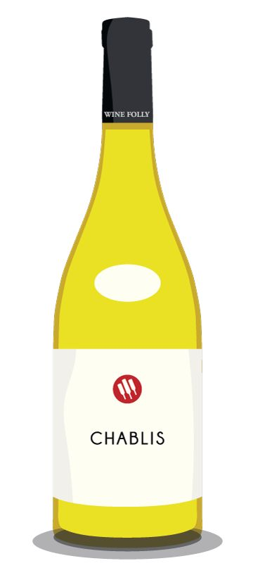 Chablis... the dry and lean French Chardonnay #wine