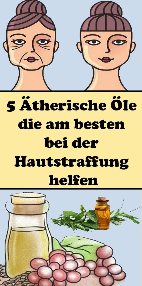 5 Ätherische Öle, die am besten bei der Hautstraffung helfen