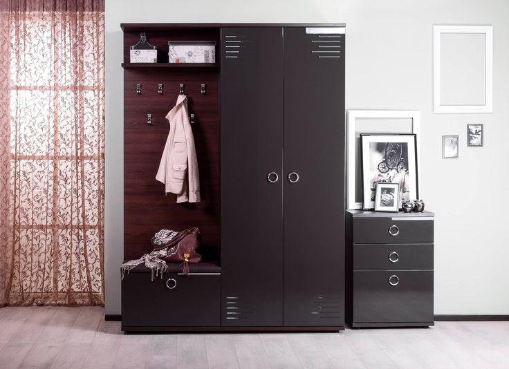 Купить Делия «Шоколад» - Прихожие в Москве | Цена, размеры, инструкция по сборке, отзывы | Интернет-магазин мебели «Любимый Дом»