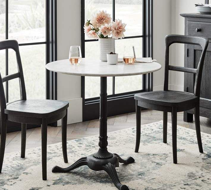 Rae Round Marble Bistro Table Marble Bistro Table Bistro Table