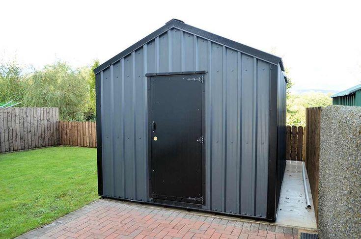 25 best ideas about metal shed on pinterest. Black Bedroom Furniture Sets. Home Design Ideas