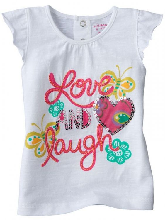 Love And Laugh T-Shirt - Markabebe.com
