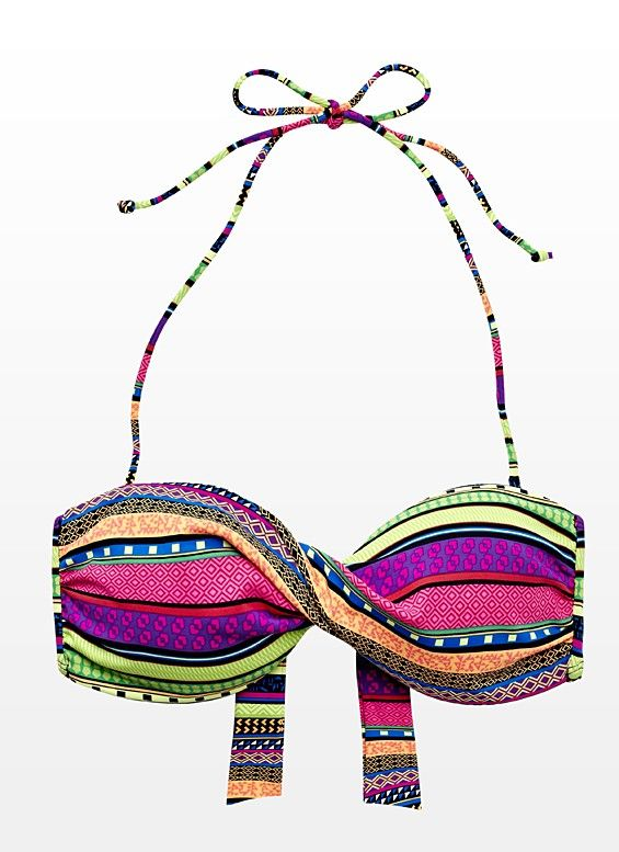 Aztec Bandeau Bikini Top - Garage this is sooo cute Ashy!