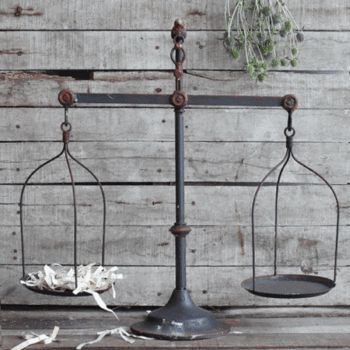 Named after a favorite customer and decorating genius! Jill's home is filled with farmhouse style and class! This decorative farmhouse iron scale is one of our favorites in Jill's home! Where will you display yours? 22″ x 23″ x 7.5″ Decorative Iron Scale **This popular beauty has been updated to have a round top vs. …