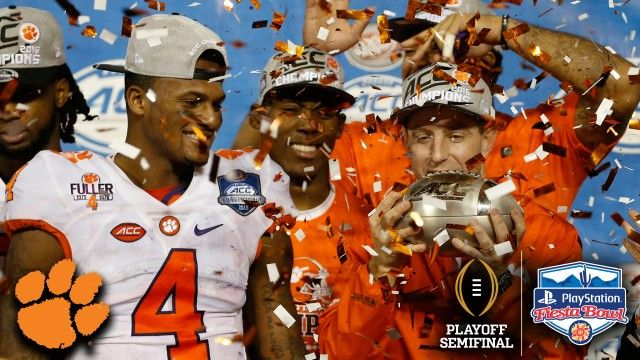 fiesta bowl 2016 | Clemson To The CFP Semifinal Fiesta Bowl: Tigers' Defining Moment of ...