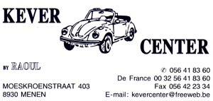 KEVER CENTER - Meer dan 3500 V.W stukken in voorradig enkel te bekomen in de winkel.