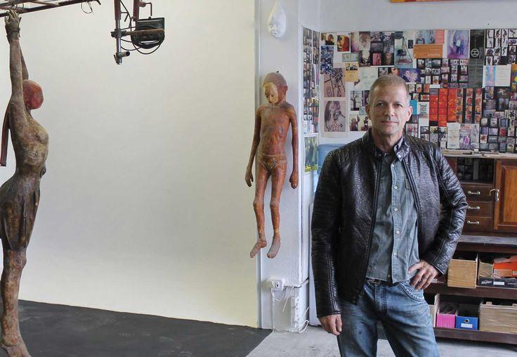 Sculptorvox Interview Stefan Blom at his art studio in Cape Town