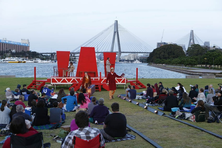 Metro Apartments on Darling Harbour: Sydney Shakespeare Festival