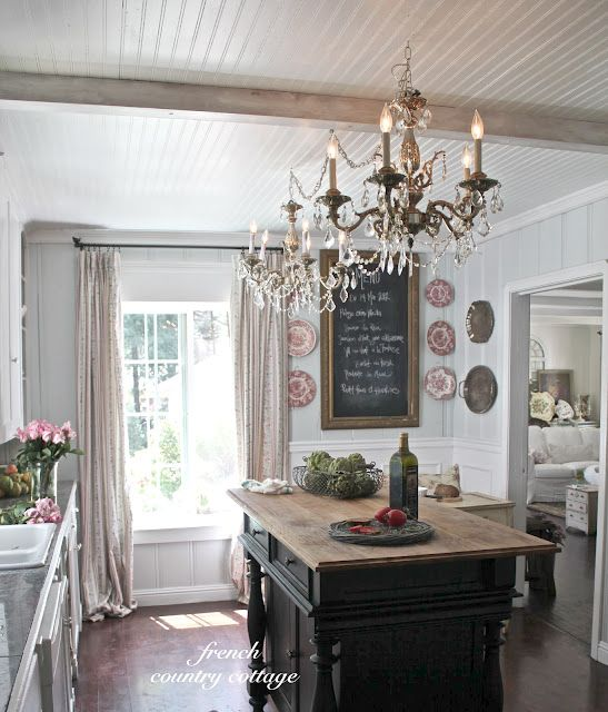 Best 25 Beach Cottage Kitchens Ideas On Pinterest: 25+ Best Ideas About French Cottage Kitchens On Pinterest