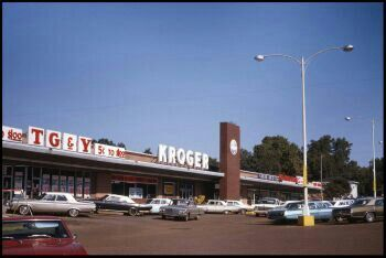 Tg Amp Y Krogers Grocery Store Early 1960s Old Paintings