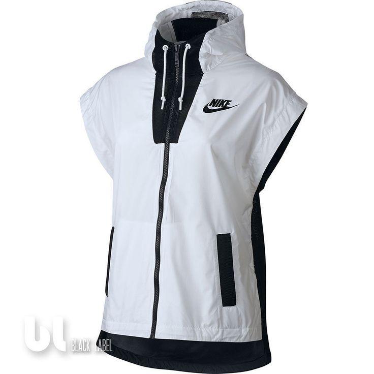 Nike Tech Hypermesh Vest Damen Weste Laufweste Mesh Weste Fitness Weste Weiß in Kleidung & Accessoires, Damenmode, Westen   eBay!