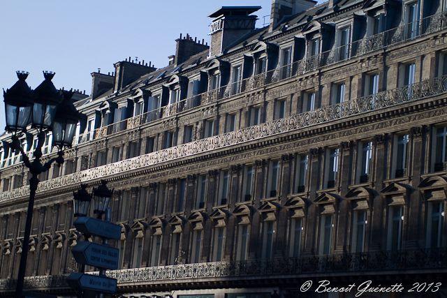 Avenue de l'Opéra - Architecture haussmannienne