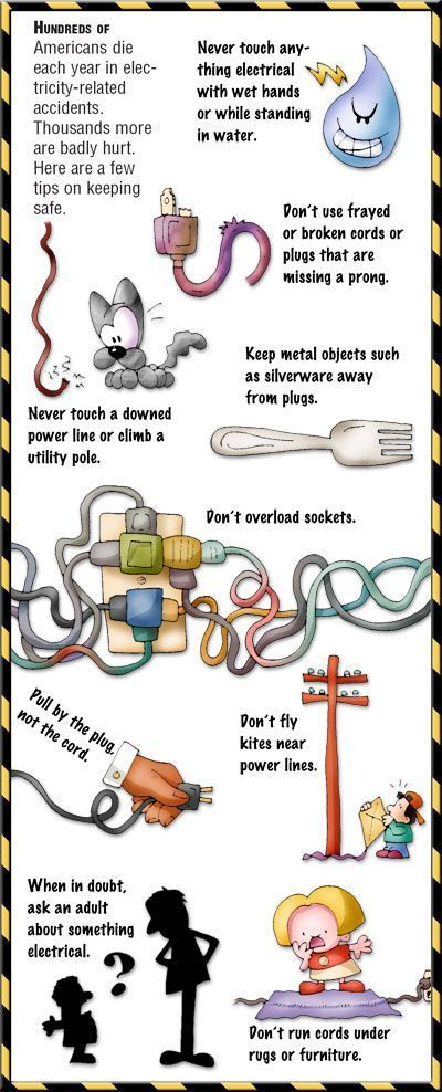 Teach your kids how to be safe with electricity. Do not let them find out for themselves...