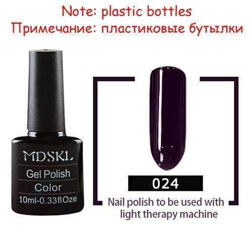 132 Colors Beauty Uv Gel Nail Polish 10Ml Soak-Off Nail Glitter Uv Gel Lacquer N…
