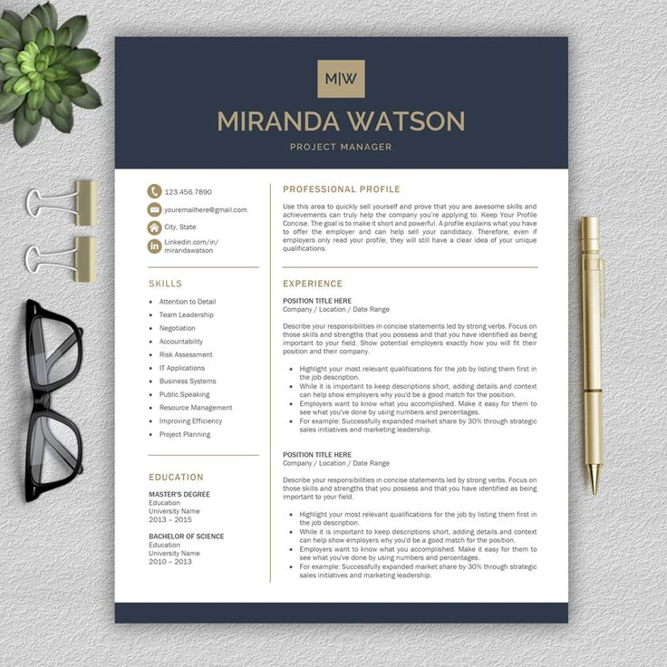 45 best Cv images on Pinterest Cv template, Resume templates and - m w resume