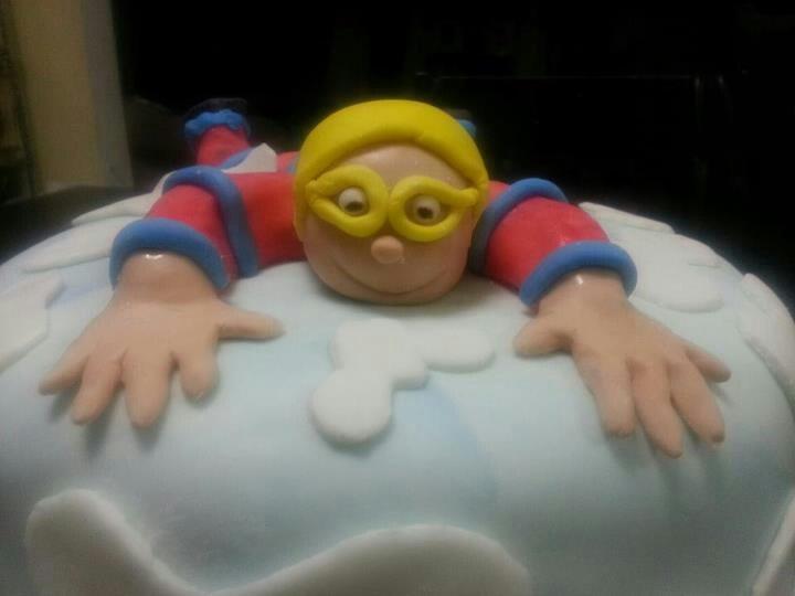 Skydiving Cake by Sugar Sweet Crumbs...