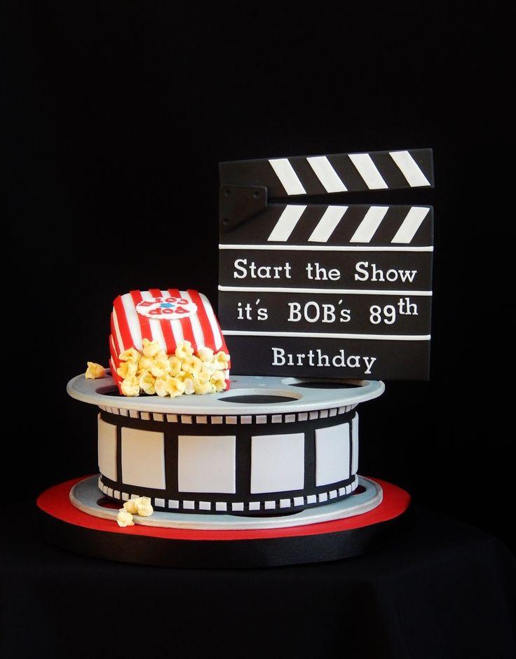 Movie Reel Cake Topper