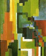 Coloured Forms II  by August Macke