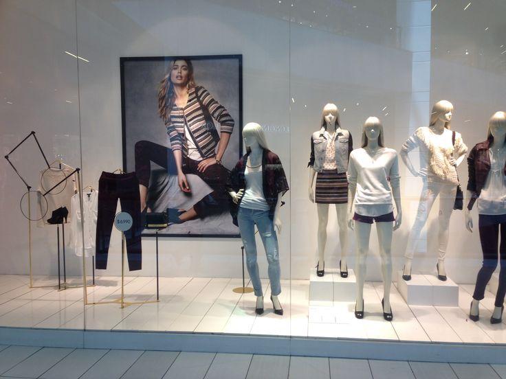 Looks de Otoño 2014 H&M Chile Window