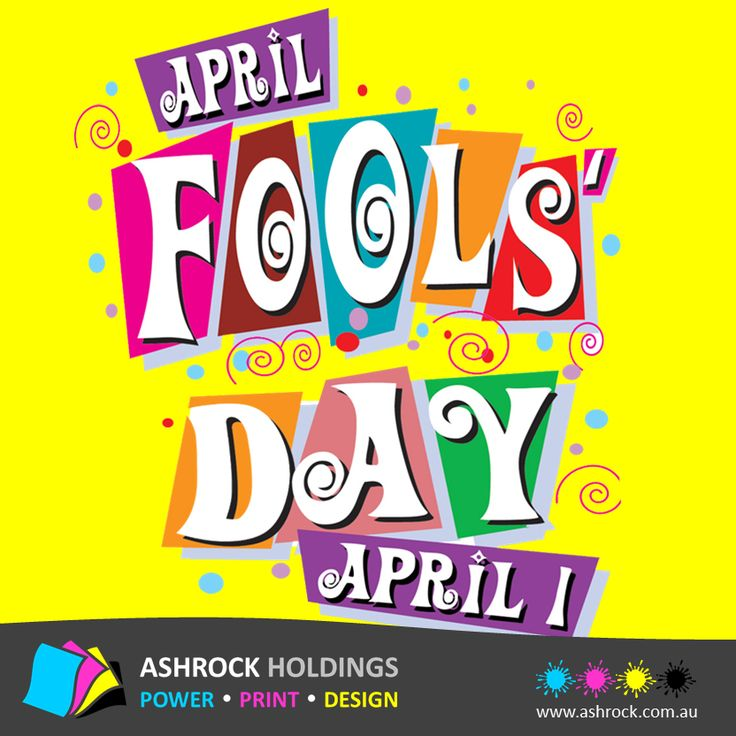 Happy April Fool's Day !! #AprilFoolsDay
